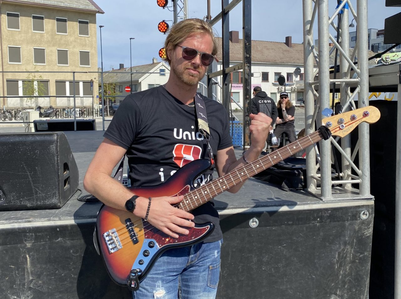 Olav Nygaard - Streik med bass